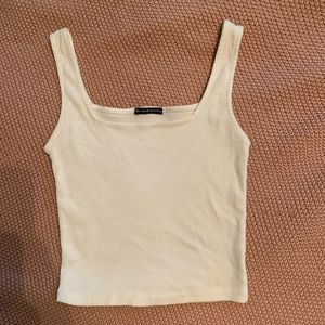 Brandy Melville Square Neck Crop Top